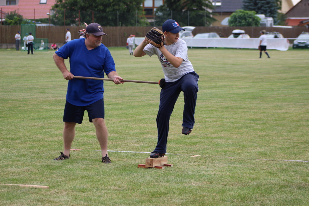 Baseball camp Mnětice 2017 | Ramon & Matěj |  fototo Martin D.