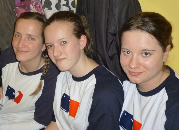Lin, Míša, Anička | Trautenau Indoor 2014 | foto Romále