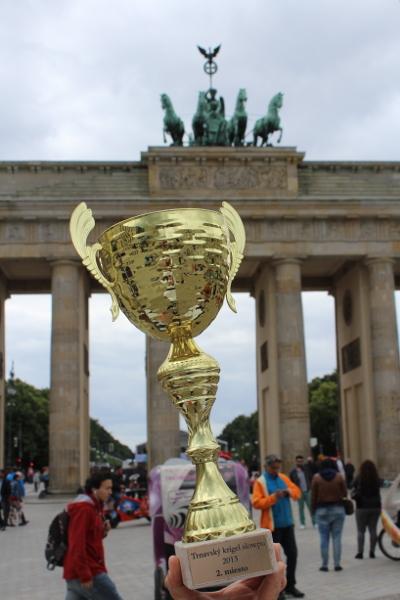 Trophy in Berlin