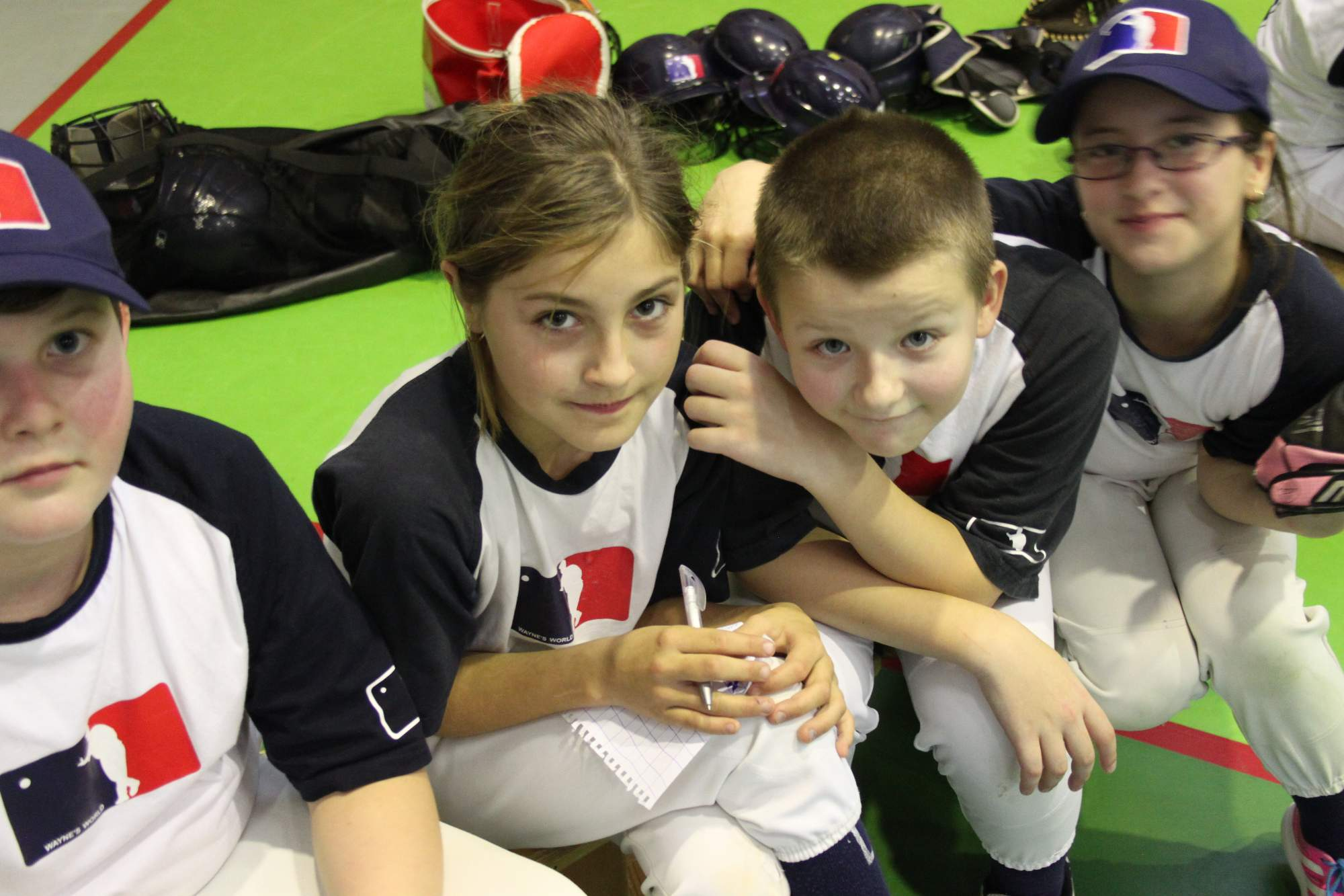 WW Indoor Cup U11 2015 | Adam, Zůza, Matěj, Áňa | fototo Šakal