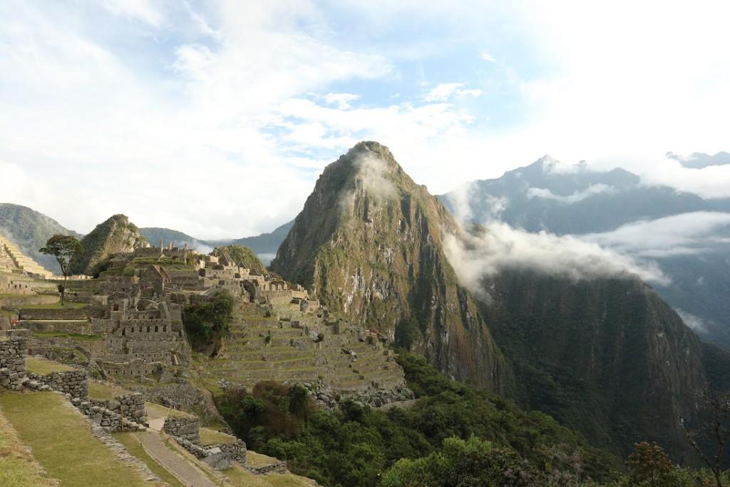 Matěj v Peru 2017 | Machu Picchu | foto Matěj