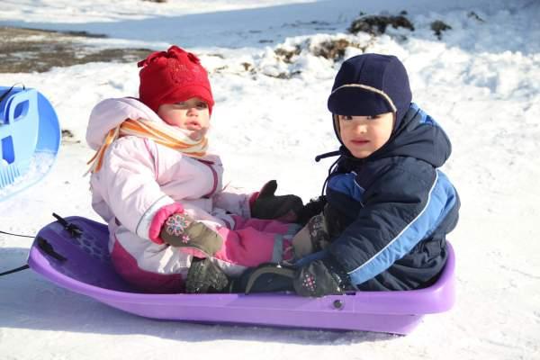 Winter Camp 2015 | Terezka s Denisem | foto Honza