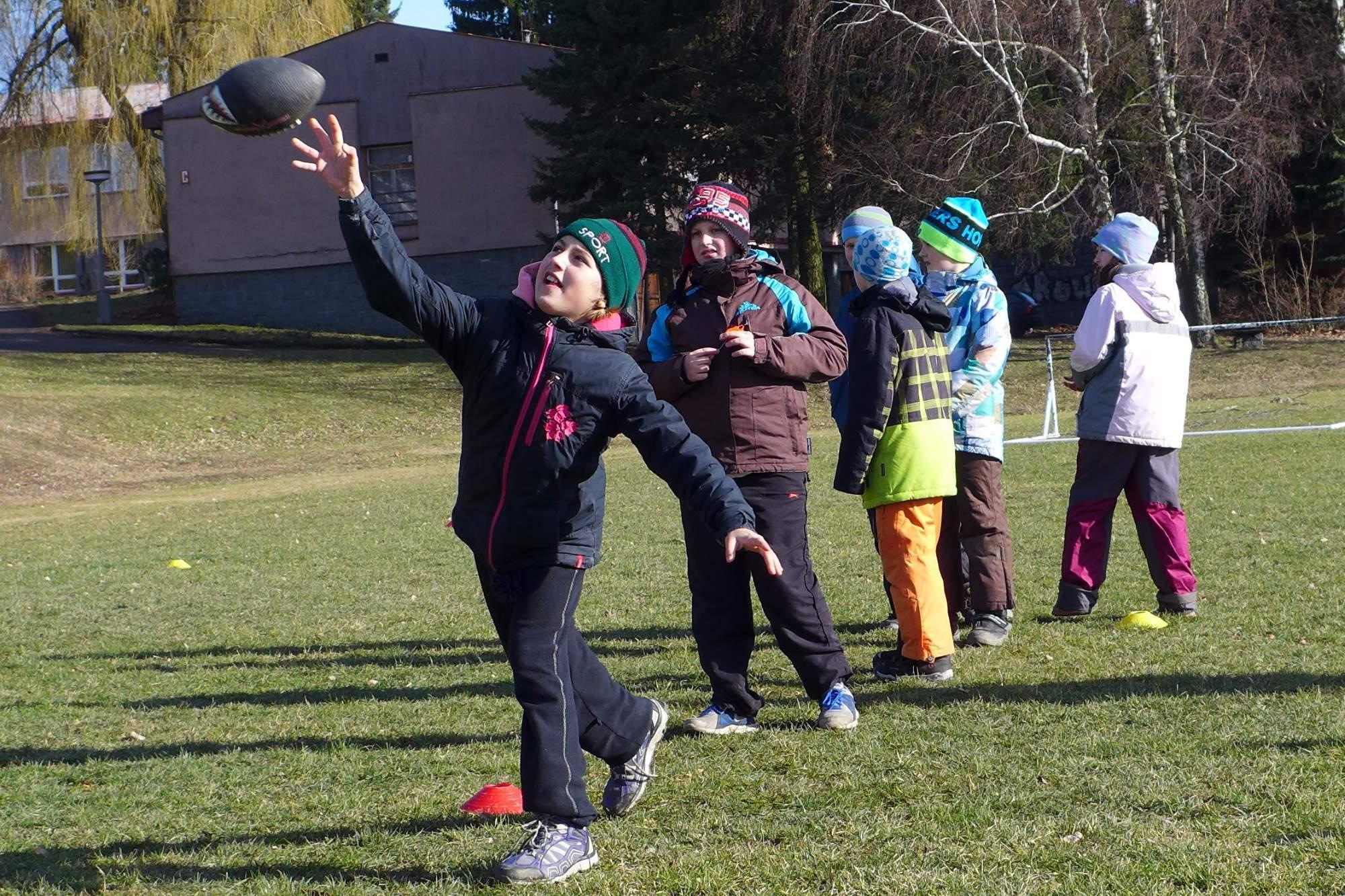 Super Bow[w]l | venkovní trénink - americký fotbal