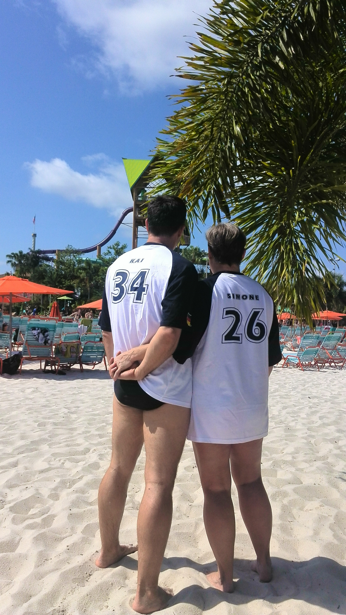 Simone und Kai, Aquatica, Orlando, USA