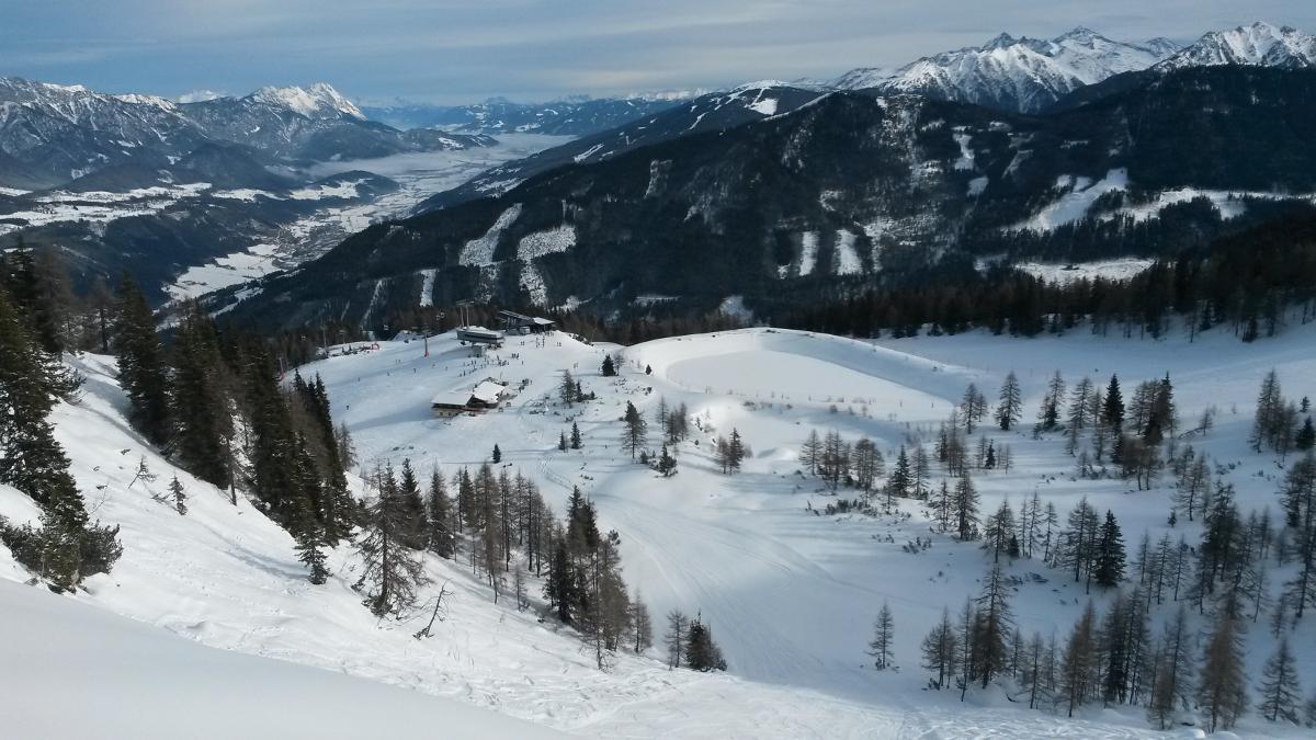 Krajinka v zimním hávu | Zauchensee, Rakousko | foto Honza Filip