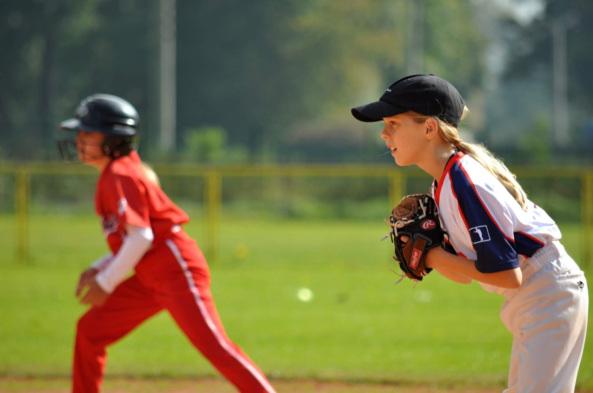 Klackaři - Waynes softball U11   Elena Voženílková   foto T. Dunda