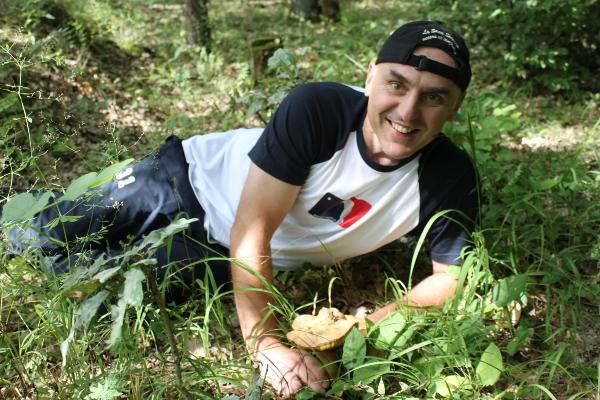 Matěj upad na houbu