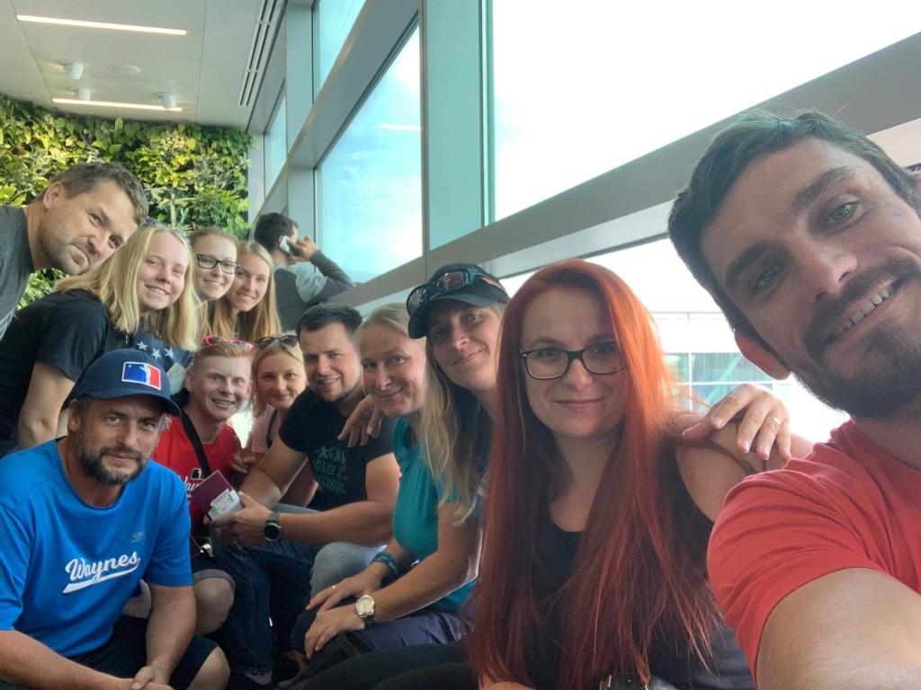 SWS 2019 | Waynes na letišti v Ruzyni