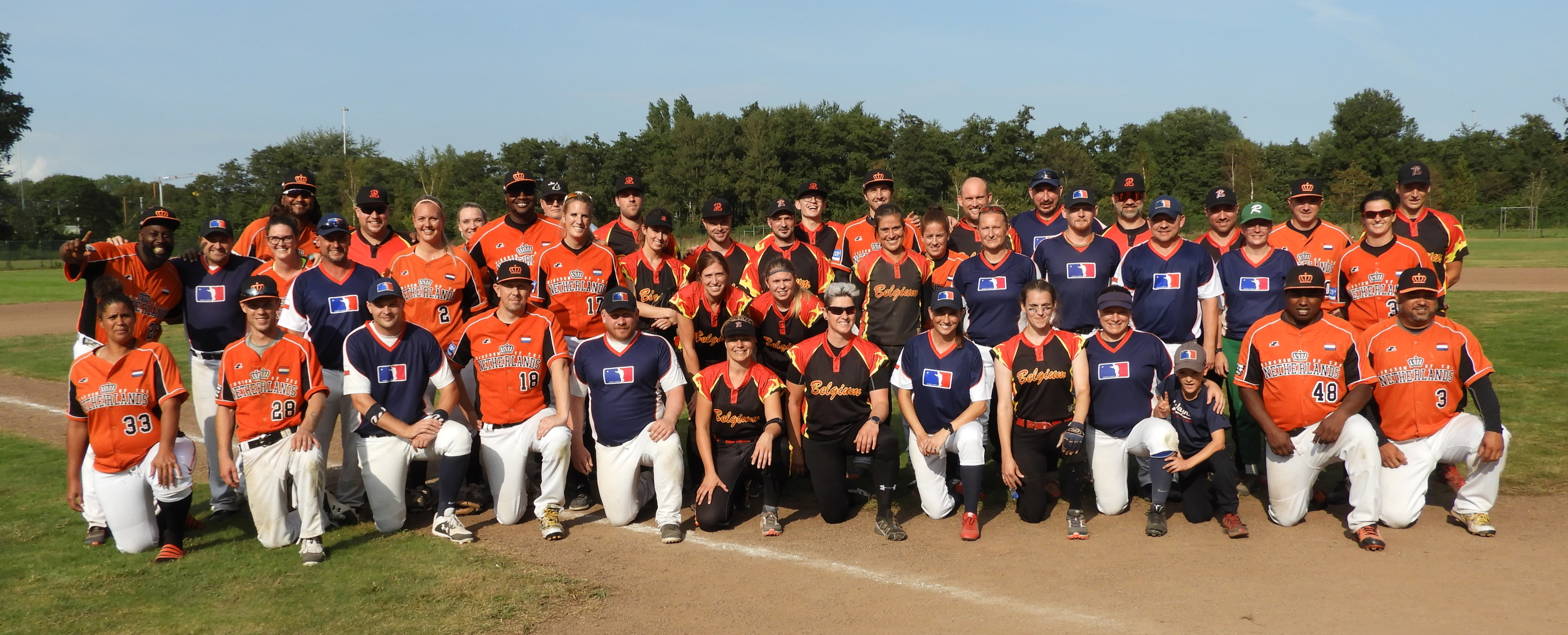 Amsterdam 2021 | COED Slowpitch Scrimmage