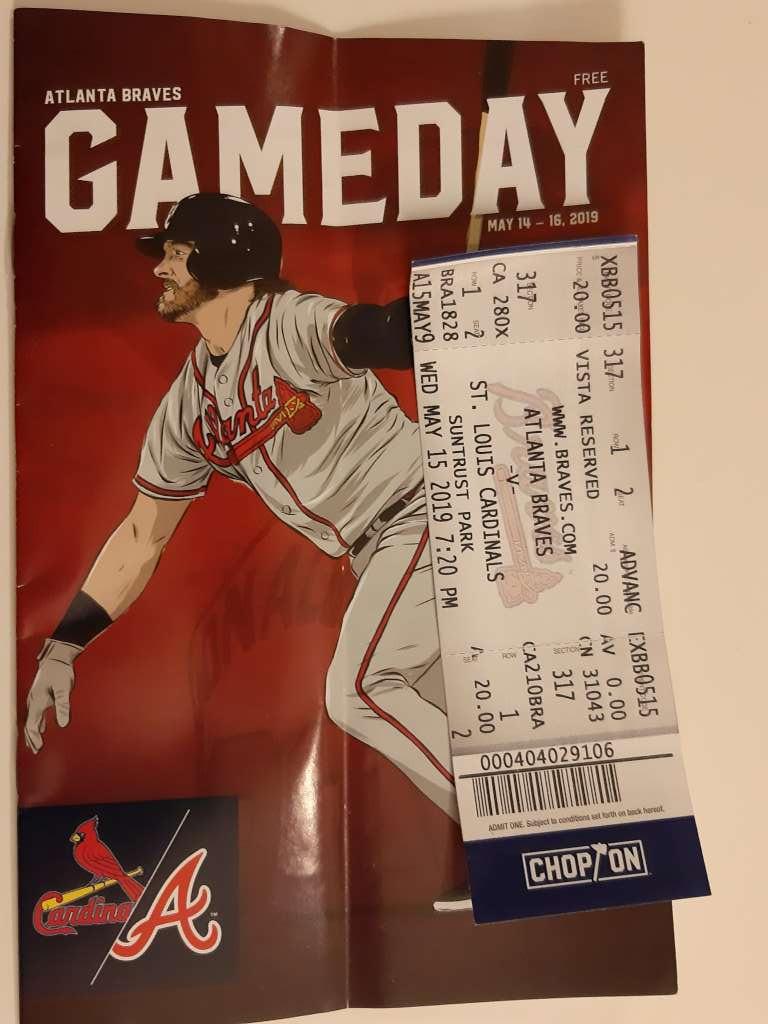 Lístek na Braves