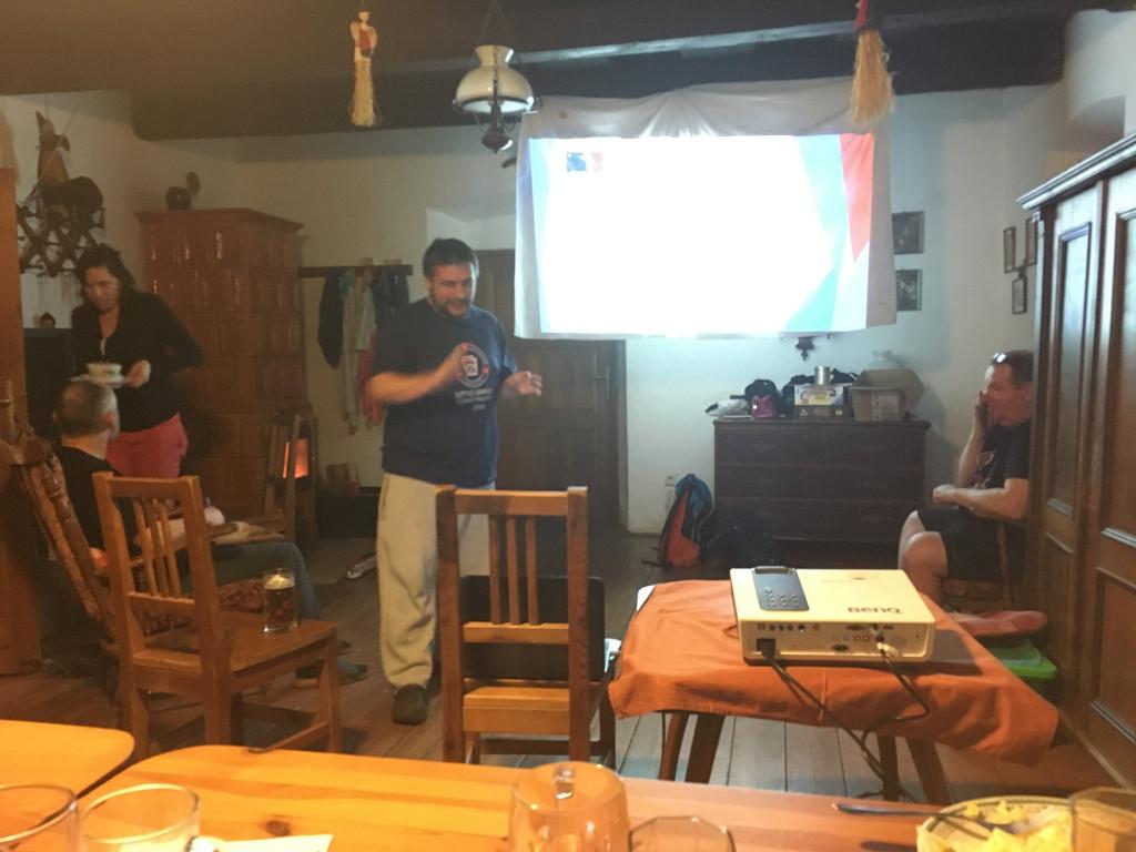 Blatiny 2018 | Wayne přednáškuje | fototo Helča