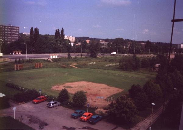 hřistě VŠCHT Pardubice
