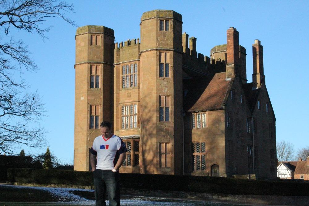 Martin Loko u Kenilworth Castle 2017