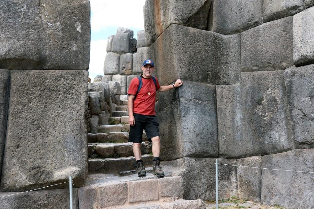 Matěj v Peru 2017 | Sacsayhuamán | foto Matěj