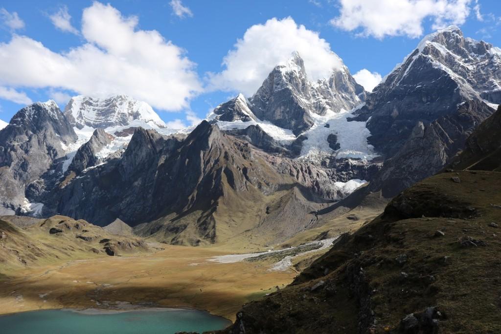 Matěj v Peru 2017 | trek z Cordillera Huayhuash | foto Matěj
