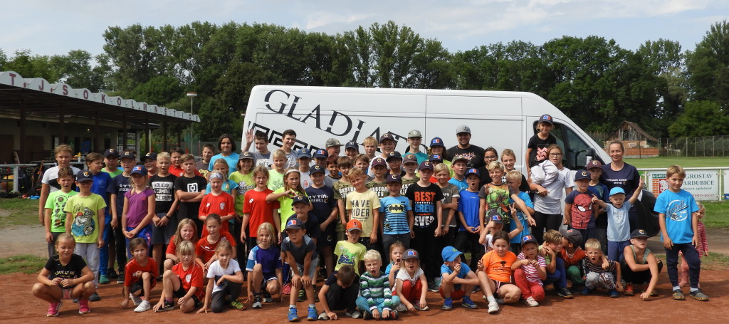 Baseball camp Mnětice 2019 | Gladiator race