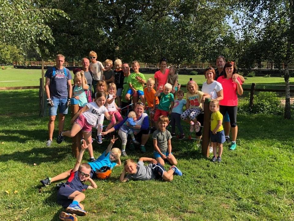 Baseball camp Mnětice 2019 | Cyklovýlet - nejmenší
