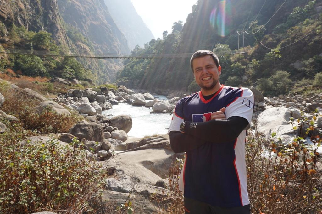 Nepál | Kubajs jen tak u mostu
