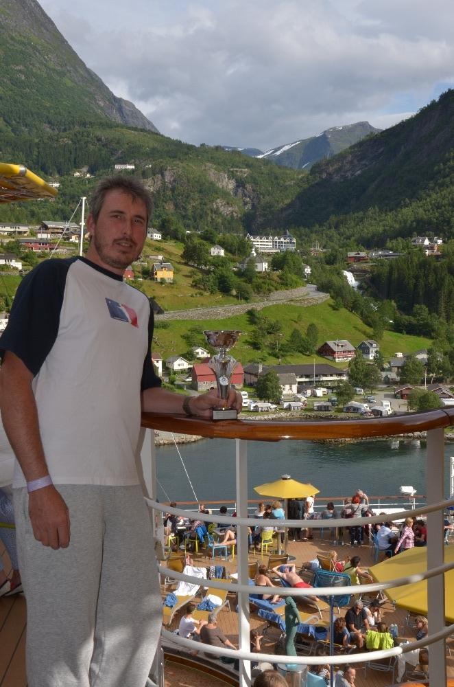 Franz Josef v Norsku 2016 - zepředu