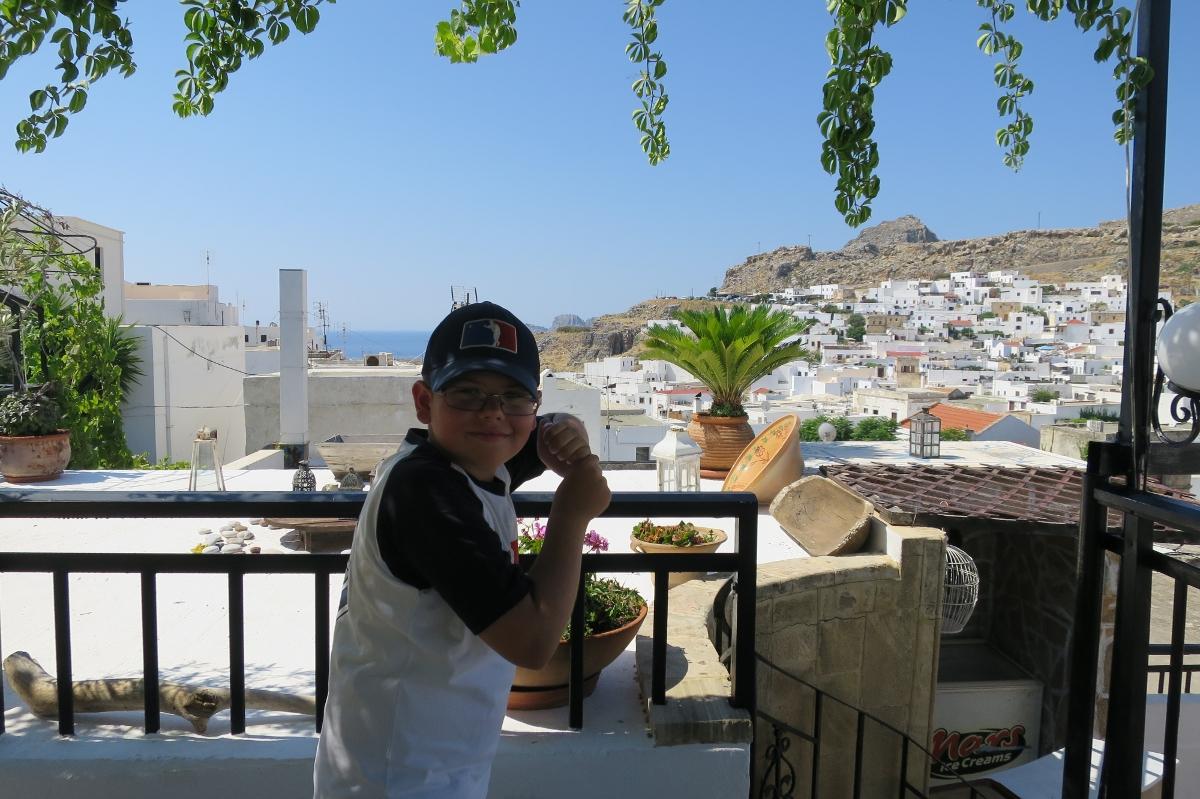 Řecko 2015 | Ondra na baseball nezapomíná ani na dovolené