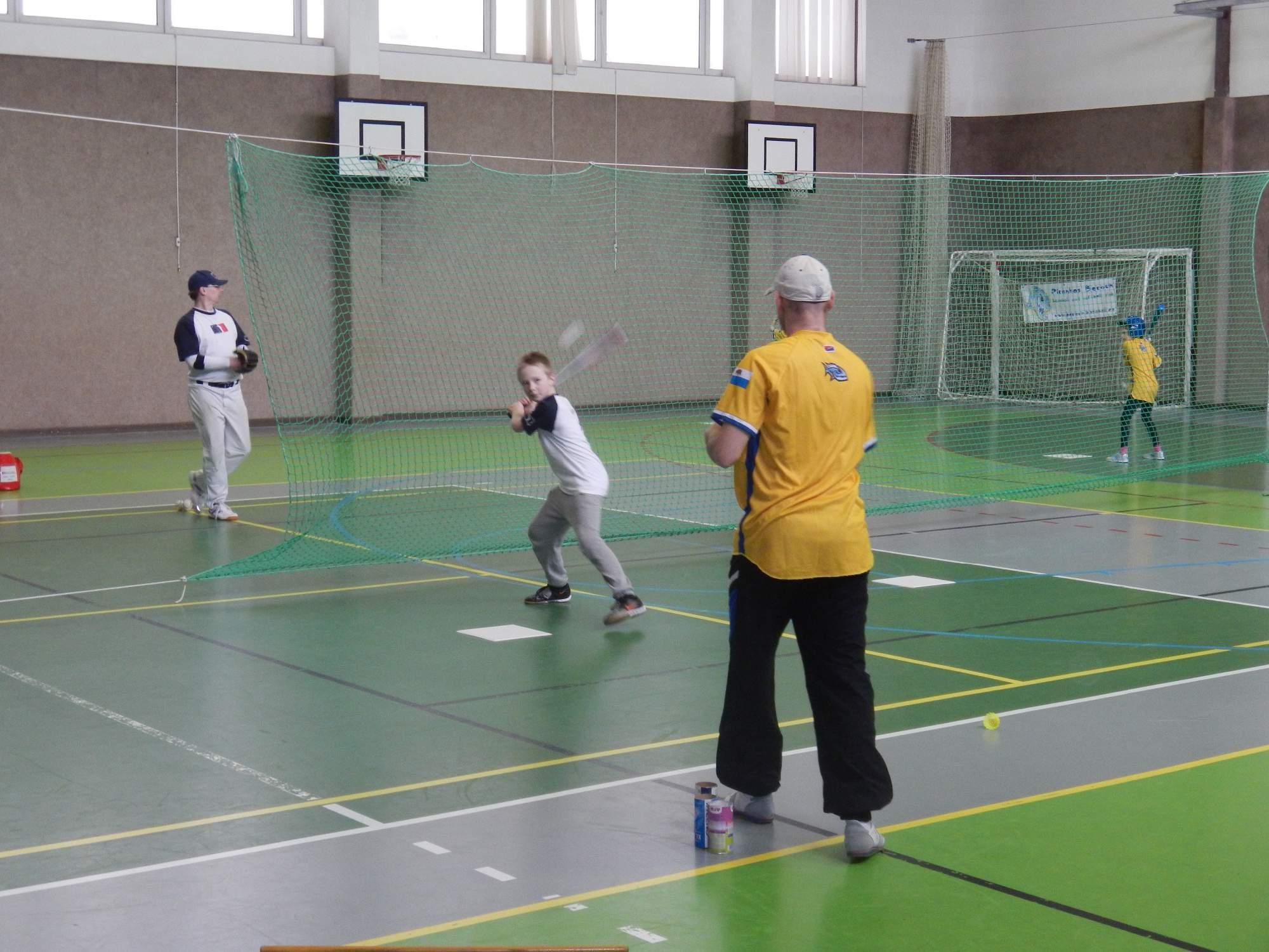 Soustředění Polička 2016 | pálkařský trénink