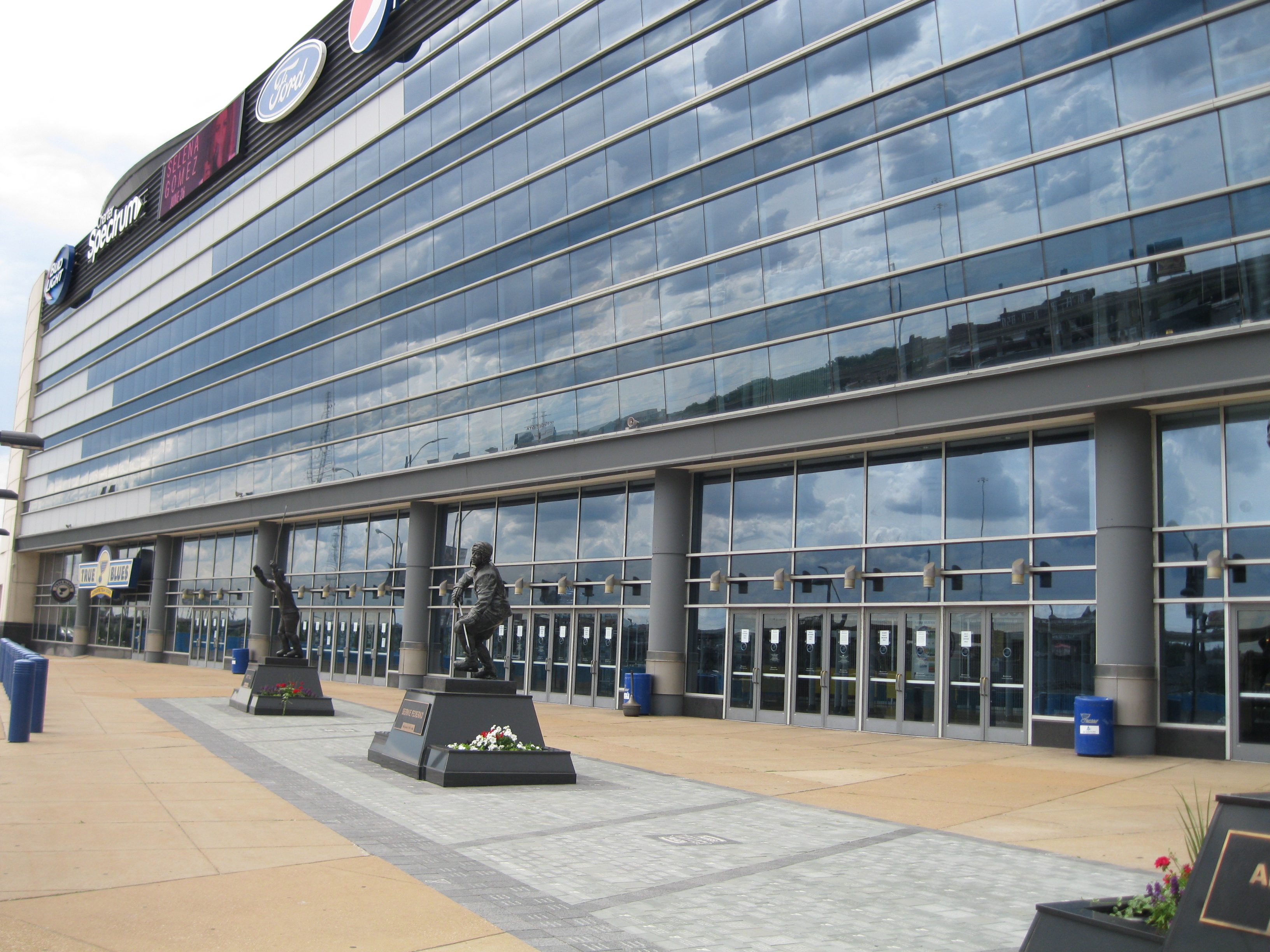 stadion Saint Louis Blues, Scottrade Center, Missouri