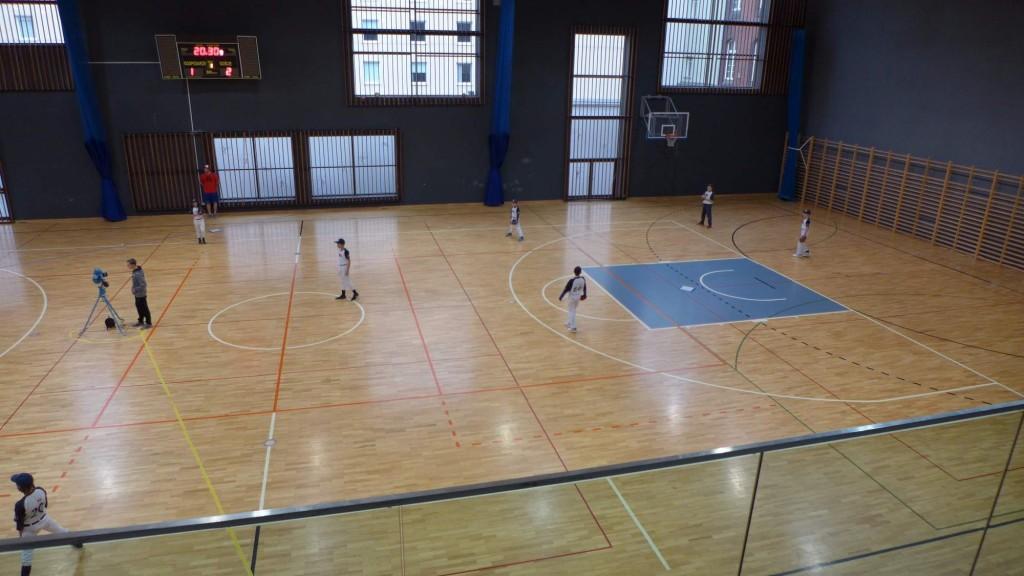 Indoor cup U13 Wroclaw | Waynes - Barons | fototo M. Fürst